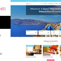 Hotel Brunei - Responsive Hotel Booking Template