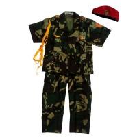 Baju Abri 7-10/ Baju Cita-cita/ Baju Karnaval Anak/ Seragam Profesi