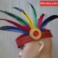 Bando Bulu Hias Rambut Aksesoris Baju Kostum Tari Tradisional