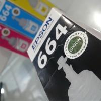 PROMO Tinta Printer Epson 664 Original L100 L110 L120 L200 L210 L220 L