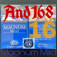 Rokok Magnum Mild 16 blue biru 234 lasermild dji sam soe ji sam su