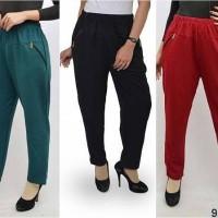 Jual Celana Ribbon / Ribbon Pants / Celana Muslimah / Celana Panjang Muslim Murah