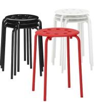 Kursi Tamu Bangku Besi s/d 100KG IKEA MARIUS Kafe Restoran Cafe Chair