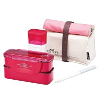 Lock & Lock Slim Lunch Bag and water Bottle - (HPL740P1)