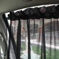 Jual Tirai Mobil Portable - Gorden Jendela Mobil Pelindung Matahari Murah