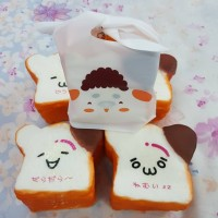 Squishy Bread Emotion with Chocolate