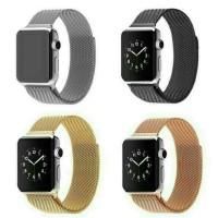 Jual PREMIUM NEW COLOR strap apple watch milanese magnet loop 38mm 42mm Murah