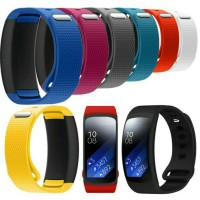 ( NEW COLOR ) Silicon Rubber Band Strap For Samsung Gear Fit 2