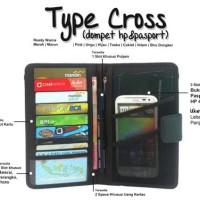 SPESIAL    Dompet HP Pria Multifungsi Branded Murah Berkualitas CABS
