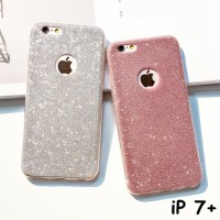 Jual CASE IPHONE 7 PLUS - SOFT JELLY CASE GLITTER BLING CANDY Murah
