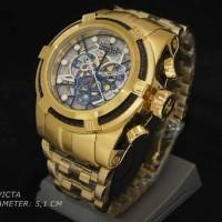 Jam tangan Invicta Reserve Big Gold 077