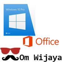 Jual Paket Hemat Windows 10 Professional dan Office 2016 Pro Plus Murah
