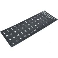 Jual US English Big Font Size Layout Sticker for Keyboard Murah