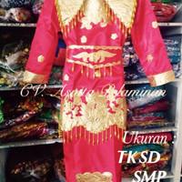 Harga baju adat padang anak sd minang pernikahan karnaval | Pembandingharga.com