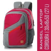 Jual Tas Ransel Laptop Pria/Wanita BLACKKELLY LOZ 350 Red Pink/Grey 27 L Murah