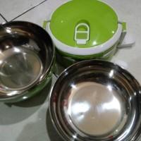 Jual Lunch Box 3 Susun/Rantang Susun/Lunch Box Stainless/Kotak Makan Eco Murah
