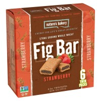 Nature's Bakery Whole Wheat Fig Bar - Strawberry (Box Of 6)