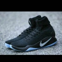 Sepatu Basket Nike Hyperdunk 2016 High Flyknit Black