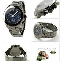 jam tangan pria merk FOSSIL ORIGINAL type : CH 2869 / CH2869 S.STEEL