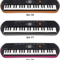Mini Keyboard Casio SA 76, 77, 78 Garansi 1th