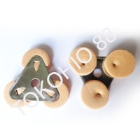 Pelampung Minyak Pelita / Lilin Apung Model Standar Busa Tanpa Sumbu