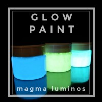 Cat Fosfor Basis Minyak  | Magma Luminos - Lemon Green