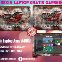 Garskin Laptop Asus A456ur - Republic Of Gamers Custom Gambar