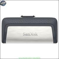 Flashdisk SanDisk Ultra Dual USB Drive Type - C 128GB Black Y2428