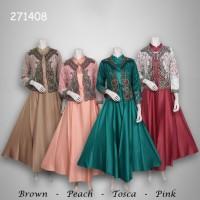 Jual Dress cardi brokat 271408 Murah