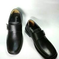 harga Sepatu Pantofel Pria Kulit Asli Rasheda M 03 Big Size Tokopedia.com