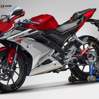 Decal stiker Yamaha R15 v3 livery R1M Red Candy