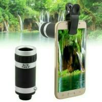 Jual Lensa Telezoom 8x Model Jepit Premium Murah