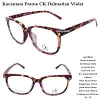 HV1419 kacamata terbaru frame ck Dalmatian violet fu KODE BIS1473