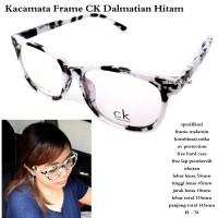HV1415 kacamata terbaru frame ck Dalmatian hitam ful KODE BIS1469