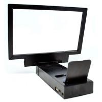 Jual Enlarge Screen Magnifier Bracket Stand 3D with Speaker for Smartphone Murah