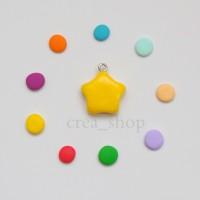 Jual Simple Bintang Charms - Handmade Fimo Clay Charm Murah