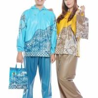 Jual Jas Hujan Setelan Batik 68285 Tiger Head. Stelan Jaket Motor Nusantara Murah