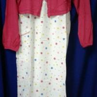 Baju gamis anak Oka Oke / Baju anak - size. 8