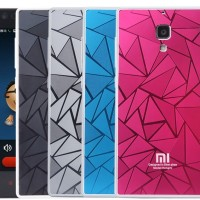 3D RHOMBUS Xiaomi Redmi Note 1 3g Mi4 Redmi 1 1s cover case casing hp