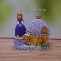 PRINCESS SOFIA - Cake Topper / Hiasan Kue - Bahan Fiber PMRUMAHSOFIA