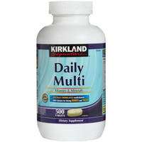 kirkland daily multi 500 tabs optimen multivitamin