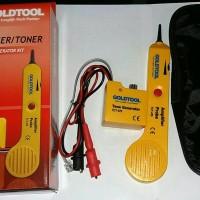 Harga tone checker goldtool tct 470 alat deteksi kabel telepon tct470 | Pembandingharga.com