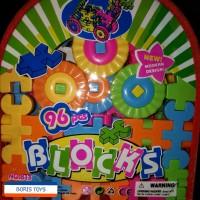 Jual Ransel Lego Block Kreatif 96 pcs Murah