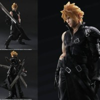 Jual Play Arts Kai Final Fantasy VII ADVENT CHILDREN Cloud Strife - Kws Murah