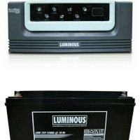 Inverter ECO WATT 900VA 12V + Battery 150AH 12V LUMINOUS
