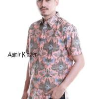 Jual Baju Batik Pria   Aamir Kinsler Salem / Batik Songket Murah