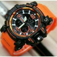 jam tangan G shock 8600 V-2 New orange black/gshock/digitec/skmei