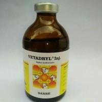 Vetadryl 100 ml antihistamin anti alergi