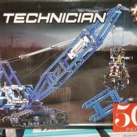 Jual Lepin 20010 New 1401Pcs Genuine Technic Mechanical The Crawling Crane Murah