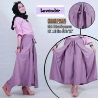Jual baju murah bawahan celana kulot rok panjang muslim VG KIRANI PANTS Murah